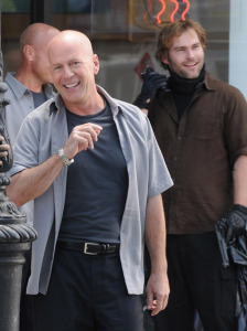 Couple of dicks Bruce Willis image set