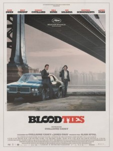 Blood Ties Guillame Canet poster trailer 225x300 Clive Owen e Billy Crudup fratelli contro in Blood Ties