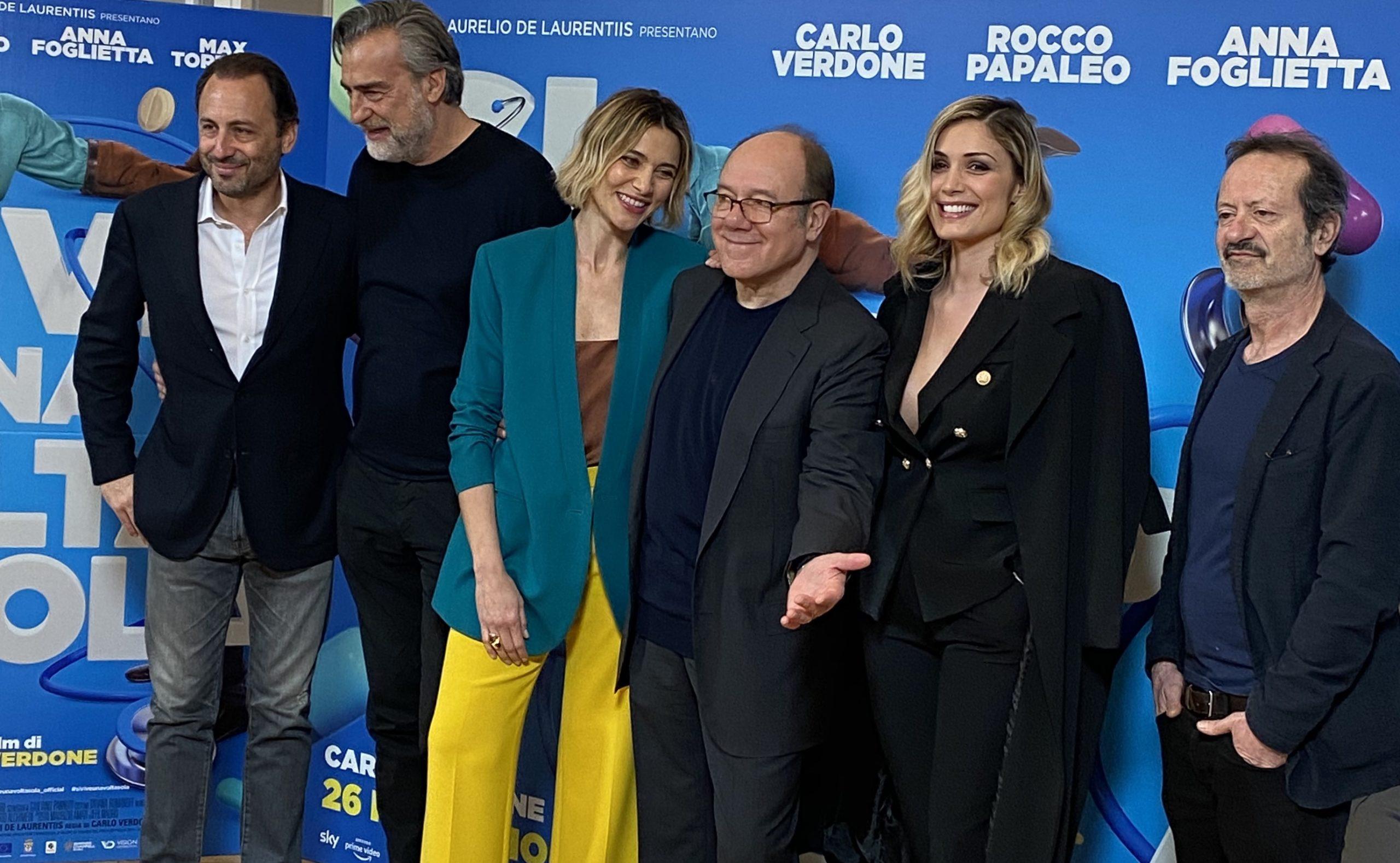 'Si vive una volta sola', il nuovo film di Carlo Verdone